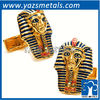King tut cufflinks, customize metal cufflinks with design