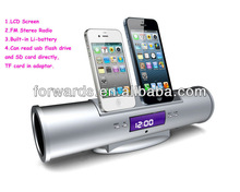 Paypal, for iPhone 5/4S/4/3GS/3G for iPod 2013 Newest Design Dual docking Mini speaker IMUSIC-5AS