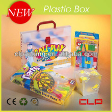 Clear treasure chest gift boxes,plastic gift packaging