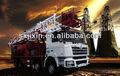 shaanxi campo de aceite especial de camiones para la venta