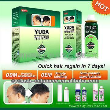 Yuda cabelo espessamento de fibras/a perda de cabelo shampoo/a perda de cabelo creme para homens e mulheres