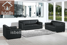 LK-733 simple sofa set designs leather furniture