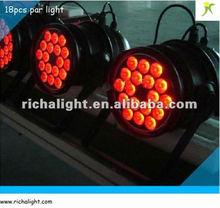 18*10w rgbw dmx led stage lighting systems