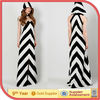 Black White Chevron Dress