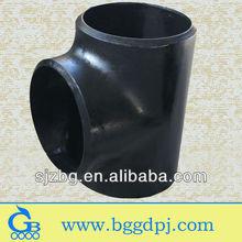 BG sch 80 6 inch seamless carbon steel equal tee sch40