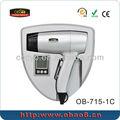 Lcd ionic do salão de beleza montado na parede secador de cabelo cd-715-1c