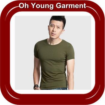 cheap brand name t-shirt, high quality t-shirt ,customed slim fit blank man t-shirt