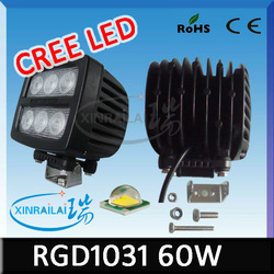 bmw auto accessories, cree 60w auto led work light waterproof ip68 RGD1031 bmw auto accessories