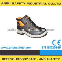 De cuero de gamuza de moda gym estilo la altura del tobillo de color caqui color calzan athleisure de seguridad de las zapatillas de deporte
