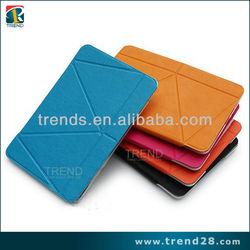 multifunction mini laptop leather case for ipad mini