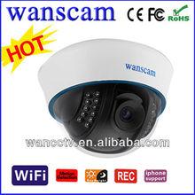 Wide Range IP Cameras Half Dome Mini Shape Long Wifi Distance Cameras IP
