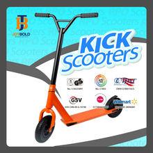 Y-bar design 200mm big wheel gas scooter jb258 adult dirt scooter with EN14619 certificate