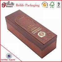 Elegant Customized Leather Wine Box