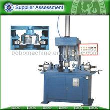 Hydraulic automatic edge beading machine for metal tableware