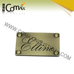 Car Cabinet Metal luggage labels