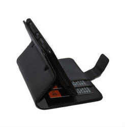 Litchi Skin Leather Case With Card Slot For Nokia Lumia 625 Stand Case
