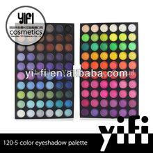 Cosmetics Wholesale! 120-5 eyeshadow palette cool eyeshadow