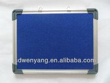 FB-95 hot sale cost effective wall mounted aluminum frame felt pinboard