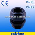 ip68 rohs uv de plástico del cable conector eléctrico