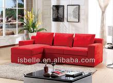 LA-3576 fabric corner sofa beds relaxing sofas