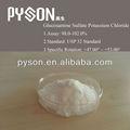 Glucosamina solfato cloruro di potassio formula molecolare: c6h12nko8s
