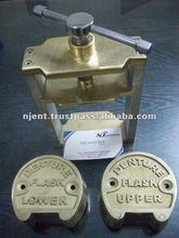 Dental Flask Brass metal with 2 denture Lab Equipment