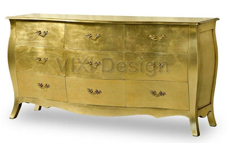 Gold Leaf Dresser Dresser Chest Gold Leaf