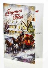 Natale musicale chip card per invito, regalo promozionale biglietto di auguri