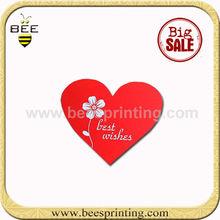 creative wedding invitation card heart shape cards