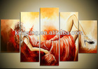 nude girls sex picture oil painting home decor