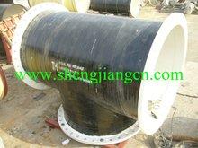 DIN30670 3PE coating pipe fittings