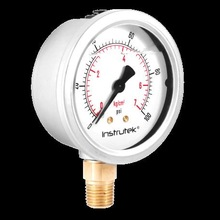 Premium liquid filled gauge