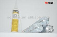 Pu sealant and Adhesives to stick plastic to metal/polyurethane sticker