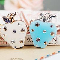 Wholesale customized metal Apple key chain china novelty YSK-004