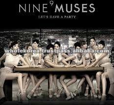 k-pop kpop supplier store exporter shop - NINE MUSES - LET'S HAVE A PARTY (SINGLE VOL.1)