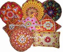 Handmade Embroidered Decorative Cushions