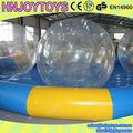 Barato comercial Popular inflável gigante piscina, Inflável rodada piscinas de plástico