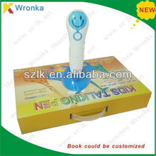 2013 best gift talking pens for kids with 8 sound books in arabic english chinese