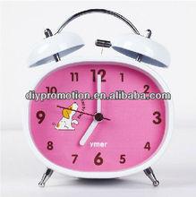 2013 promotional children twin bell alarm clock