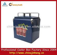 metal carry beverage cooler