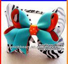 2013 New design halloween bow headband ,Fashion kids' Hairband with small bow!new styleholloween bow headband WH-779