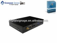 SC-8028 Multimedia Digital Signage Device ad video display