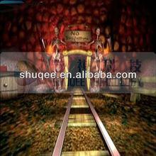Animation 4D cinema film , 5D thriller motion movie , 6D horror movies
