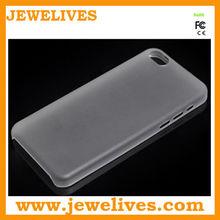 Transparent pc cover for iphone 5c