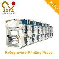 Plastic Film Roll to Roll Printing Machine