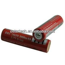 UltraFire LC rechargeable protected 18650 lamp rechargeable batteries