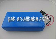 2013 hot selling lipo battery 36v 20ah