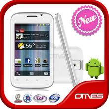 Dual Sim 4 inch HD camera OT991 leather sheath android phone