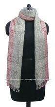 Multi - color mujer viscosa pashmina mantón bufanda