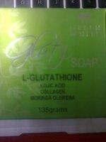 Greenwhite glut Soap